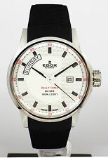 EDOX men's automatic DAY DATE Rally Timer watch 83008 3 AIN LIST AU$2400