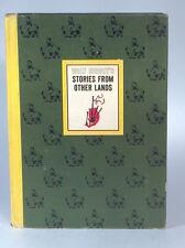 Vintage 1965 Walt Disney Stories From Other Lands Book