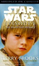 Star Wars Episode I The Phantom Menace by Terry Brooks Audio Book Cassette Tape
