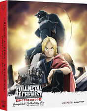 FMA Fullmetal Alchemist: Brotherhood Complete Series DVD Full Collection 1(1-33)