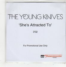 (FQ77) The Young Knives, She's Attracted To - 2006 DJ CD