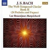 J.S. Bach: The Well-tempered Clavier, Book II CD NEW