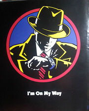 DICK TRACY(MADONNA) ADVERT POSTER I'M ON MY WAY (MOVIE) NOT REPRINT VERY RARE