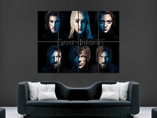 GAME OF THRONES TV  ART IMAGE HUGE  LARGE PICTURE POSTER GIANT