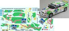 1/43 DECAL BMW 320d 'sì al ring' 24h NURBURGRING 2008