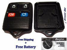 KEYLESS ENTRY REPLACEMENT REMOTE  SHELL CASE FORD 4 BUTTON CWTWB1U331 (BLACK)
