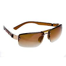 Stylische Sonnenbrille BR019, Braun, total cool