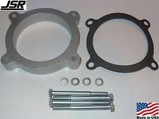 11-17 Mustang GT 5.0 Throttle Body Intake Spacer Plate 3/4 Inch x 80mm