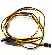 C3003-5 90cm 22AWG 22 AWG RC Hitec Servo Connector Y Extension Wire 900mm