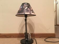 Kiss Bass Guitar Table Lamp Used VERY HARD ITEM TO FIND  No Box