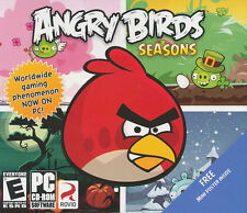Angry Birds Seasons - Rovio App for PC Windows XP/Vista/7 - US Version - NEW!