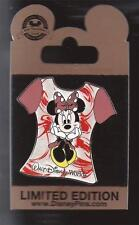 DISNEY WDW GOLD CARD T SHIRT SERIES MINNIE MOUSE RED TIE DYE PIN LE 1000 NEW