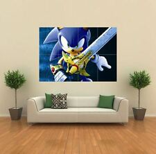 SONIC AND THE BLACK KNIGHT XBOX NEW GIANT ART PRINT POSTER PICTURE WALL G031