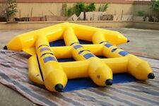 Inflatable Fly Fish flyfish Flyboat 6 Persons Slide Flying Banana Boat Water Tow