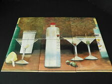 Art Tiles Mural Ceramic Backsplash Decor Cocktails Bar Drinks Martini Set of 6
