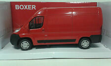 PEUGEOT BOXER RED MONDO MOTORS  1/43