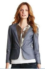 Robert Rodriguez Womens Beaded Blazer  Jacket  Cream Sz 6 NEW NWT MSRP $ 695
