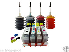 4 Refillable ink cartridge with chip HP 920 XL OfficeJet 7000 7500a + 4x30ml 1P