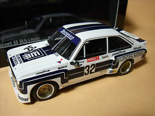 FORD  ESCORT II  RS 1800  DRM 76  SUPERSPRINT  KLAUS  LUDWIG   MINICHAMPS  1/43