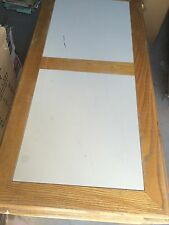 Light Brown Wood with White Insert Great for Home, Motels, Rental Apartments