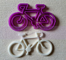 Bicycle cutter cake fondant UK seller