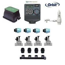 kit irrigazione Orbit 4 stazioni zone con centralina programmatore completo