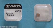 1 x VARTA BATTERIE KNOPFZELLE V335 SR512 SR512SW Armbanduhr V 335 1,55V 5mAh