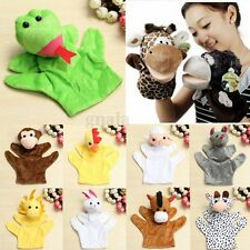 New Velour Animal Hand Puppets Child Kids Educational TOY Preschool Kindergarten