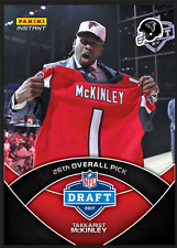 2017 Panini Instant 26th Overall Pick Takkarist McKinley RC NFL Rookie Draft SP