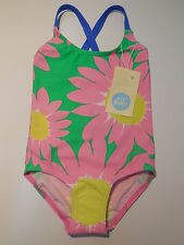 NEW Mini Boden baby toddler girl swimsuit bathers size 18m - 2years UPF 50+