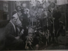 2 Vintage  Photos amusantes vers 1940 Fête de Noël déguisement snapshot
