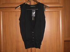 "Vest""Atmosphere""Black Size:10 (UK) Eur 38 New With Tags SALE"