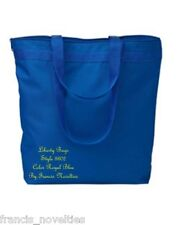 NWOT A1 Liberty Bags 8802 Royal Blue Melody Large Tote Bag 18 x 16 x 4 Inches