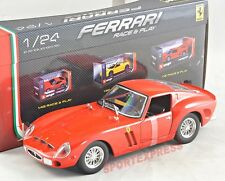 NEW 1/24 Bburago 18-26018 Ferrari 250 GTO, red, 1962