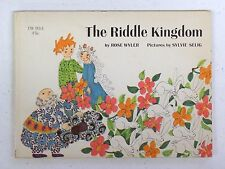 THE RIDDLE KINGDOM Vintage 1967 SCHOLASTIC PB Book TW 953 1st Print