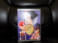 Snow White and the Seven Dwarfs (DVD, 2001, 2-Disc Set, Special Edition) EUC