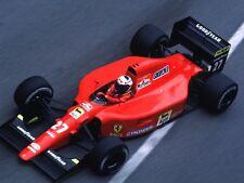1/10 F1 Ferrari Mansell Porst 641 642 F191 RC car body + decal for Tamiya F104w