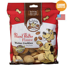 Exclusively Dog Wafer Cookies Peanut Butter Flavor 8 Oz.