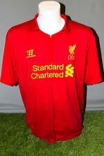 Liverpool Home Adult XXL 12/13 Warrior Football Shirt Soccer Jersey Camesita Kit
