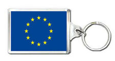 EUROPEAN UNION EU FLAG KEYRING NEW LLAVERO