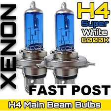 Blue White Headlight Bulbs Globe Holden Commodore VT VX VY BA BF Falcon