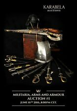 PDF Catalogue of Karabela Auctions GmbH, Sword, Saber, Mace, Axe, Armour, Rifle