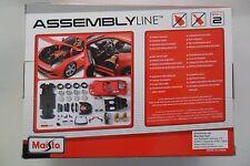 MAISTO ASSEMBLY LINE 1:24 DIE CAST KIT FERRARI F12 BERLINETTA ROSSO  ART 39018