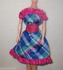 ♥♥ Barbie Twice As Nice Reversible Dress - 7953 Kleid - 1984 Bastler Outfit  ♥♥