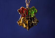 Harry Potter Hogwarts Wappen Kette Gryffindor Ravenclaw Hufflepuff Slytherin