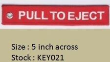 PULL TO EJECT - RED KEYCHAIN - KEY021