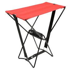Chaise pliante de poche camping pliable outdoor de replier tabouret pêche jardin