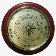 Traditional Wall Barometer Fine Weather Instrument For Your Home Or Ideal Gift