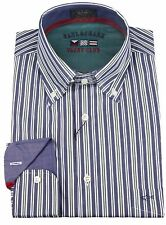 "Paul & Shark YACHTING Hemd Shirt Langarm Größe 42 US 16.5"" International Ocean"