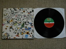 Led Zeppelin III LP washed /gewaschen Israel Press
